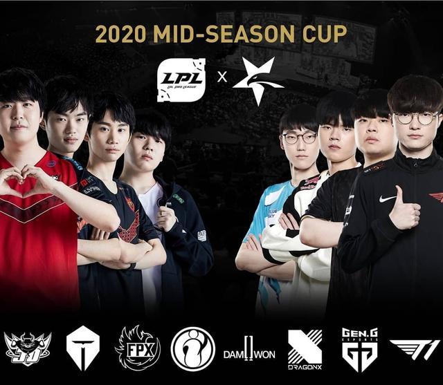 Làm poster giải đấu giao hữu LPL - LCK nhưng 7/8 gương mặt... đều là người Hàn, Riot bị fan Trung Quốc chỉ trích dữ dội - Ảnh 1.