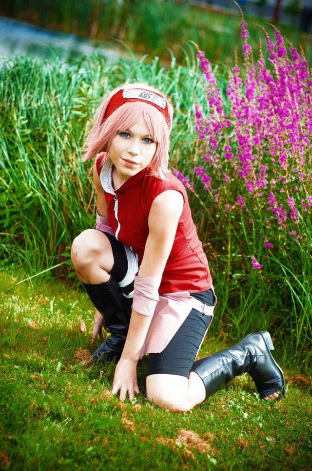 Ngắm mối tình đầu của Naruto nhan sắc thay đổi thất thường qua các phiên bản cosplay khác nhau - Ảnh 9.