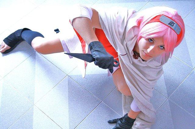 Ngắm mối tình đầu của Naruto nhan sắc thay đổi thất thường qua các phiên bản cosplay khác nhau - Ảnh 16.