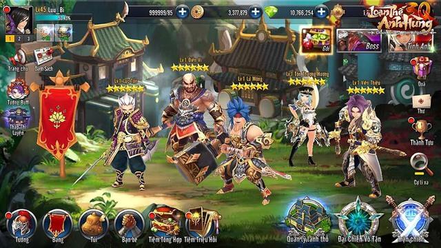 300 thần tướng, 1500 kỹ năng, 4 hệ Nguyên Tố và hàng loạt hiệu ứng đặc biệt: Loạn Thế Anh Hùng 3Q không dành cho những tay mơ! - Ảnh 2.