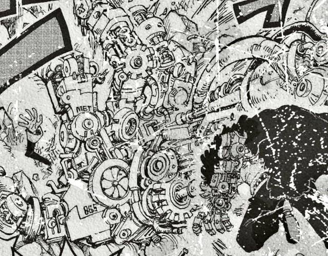 One Piece chap 980: Zoro cùng Luffy làm loạn, Queen thừa cơ hội muốn tiêu diệt Flying Six - Ảnh 6.
