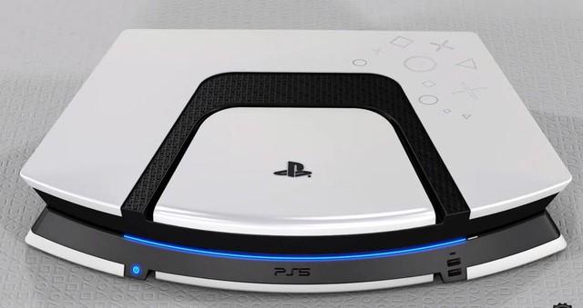 Dưới bàn tay tài hoa của fan hâm mộ, PS5 sẽ có thiết kế đẹp như thế này đây - Ảnh 1.
