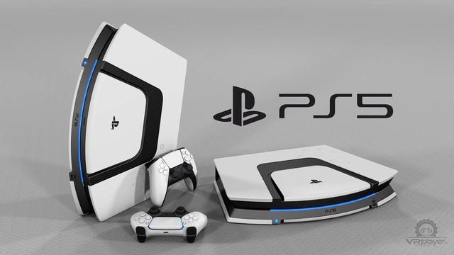 Dưới bàn tay tài hoa của fan hâm mộ, PS5 sẽ có thiết kế đẹp như thế này đây - Ảnh 2.