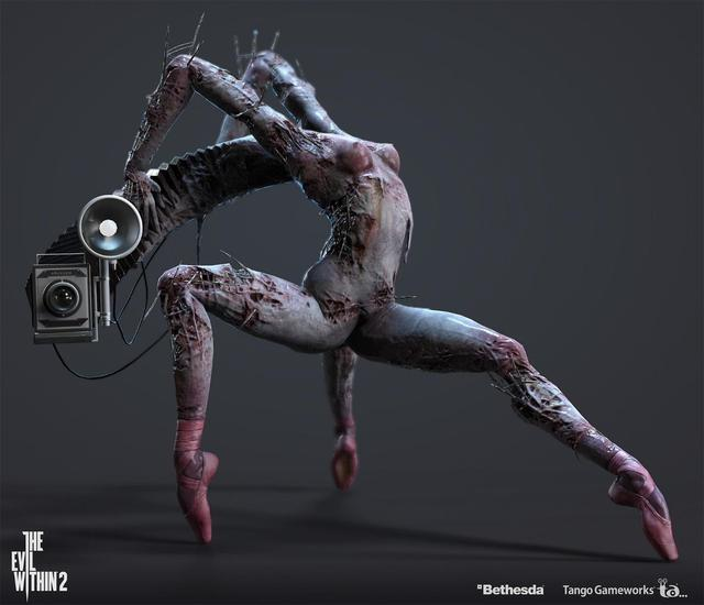 Top những quái vật gây ám ảnh cho game thủ cả trong mơ, khiến fan phải khiếp vía vì quá dị - Ảnh 1.