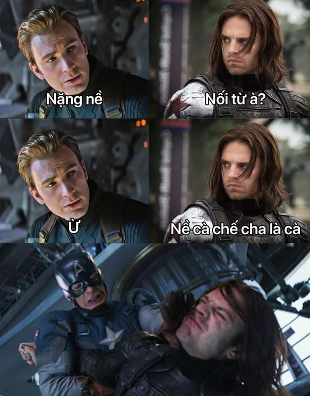 Chết cười với trend nối chữ cùng Captain America, càng xem càng thấy lầy lội - Ảnh 14.