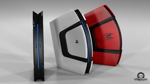 Dưới bàn tay tài hoa của fan hâm mộ, PS5 sẽ có thiết kế đẹp như thế này đây - Ảnh 4.