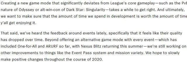 Riot Games: Game thủ chơi chế độ đặc biệt vài trận rồi bỏ thì bọn tôi tạo ra mode mới để làm gì? - Ảnh 3.