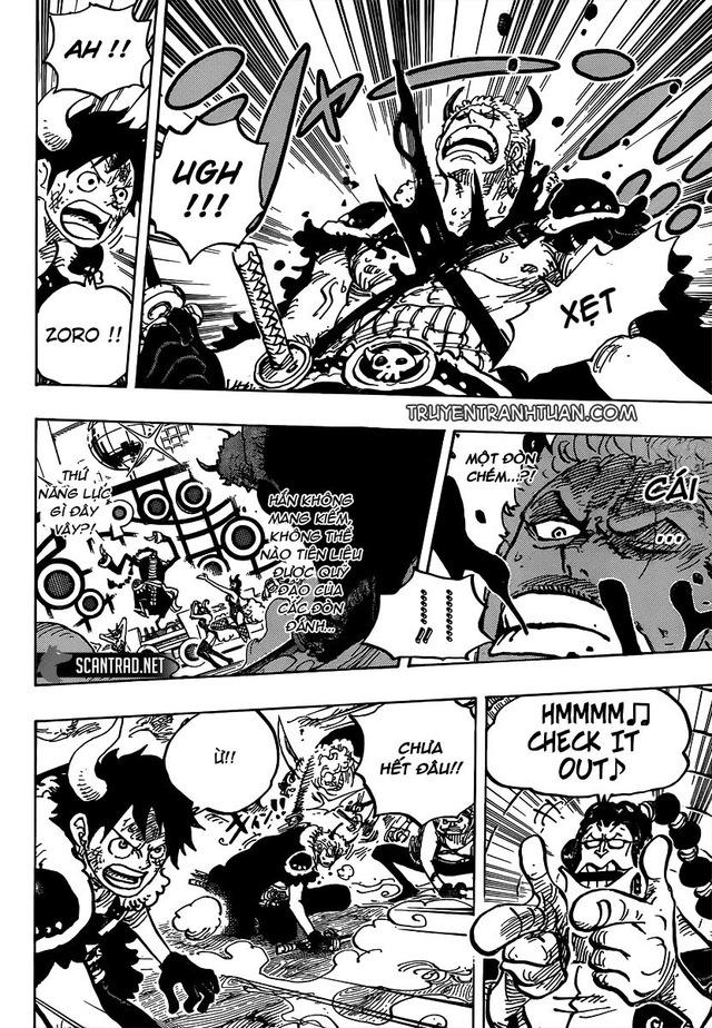 One Piece 980: Luffy và Zoro tạm thời lún, tạo đất diễn cho 2 Siêu Tân Tinh Apoo và Kid thể hiện thực lực - Ảnh 2.