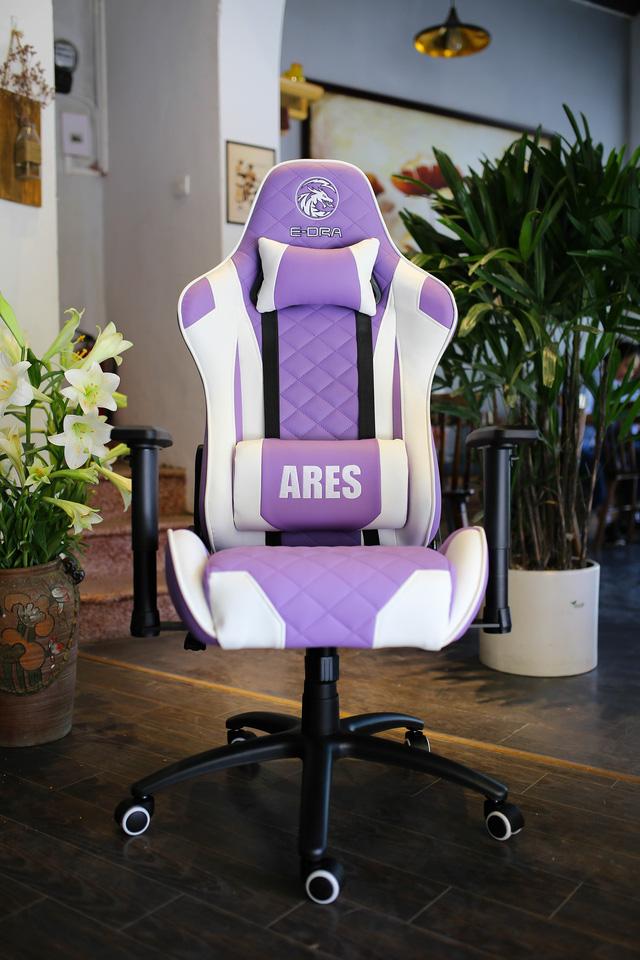 Ghế gaming êm mượt, nhiều màu bắt mắt và ngon nhất trong tầm giá 3tr đồng: E-Dra Ares EGC207 - Ảnh 4.