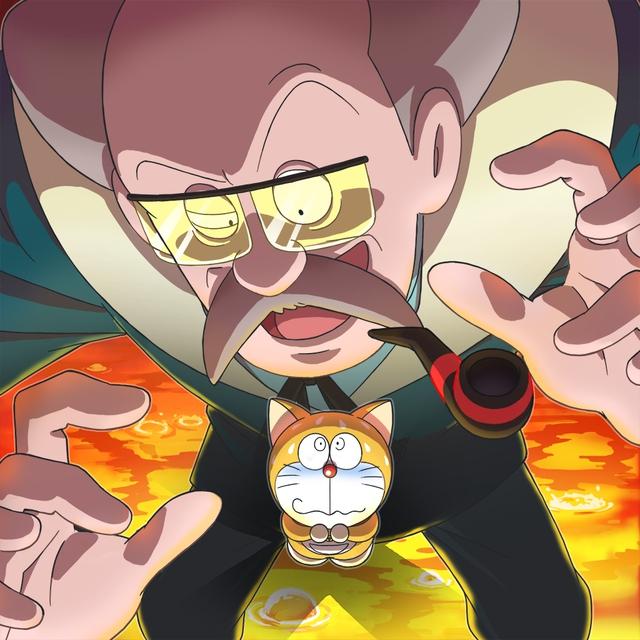 Loạt tranh Doraemon và gia đình Nobi dành cho hội fan mèo máy - Ảnh 3.