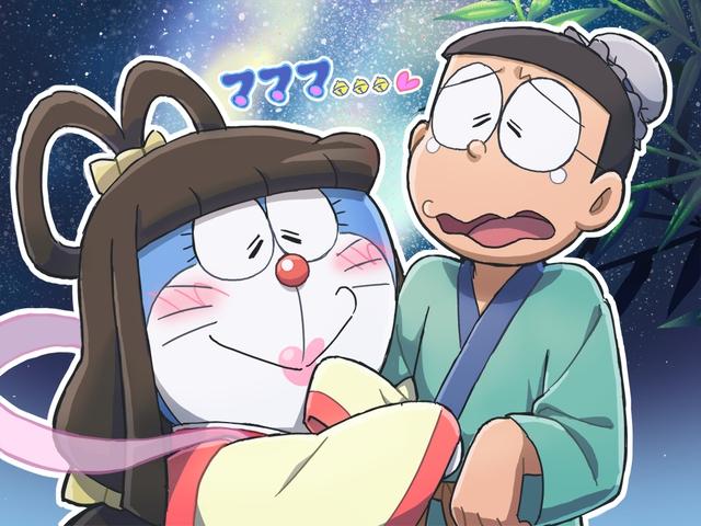 Loạt tranh Doraemon và gia đình Nobi dành cho hội fan mèo máy - Ảnh 2.