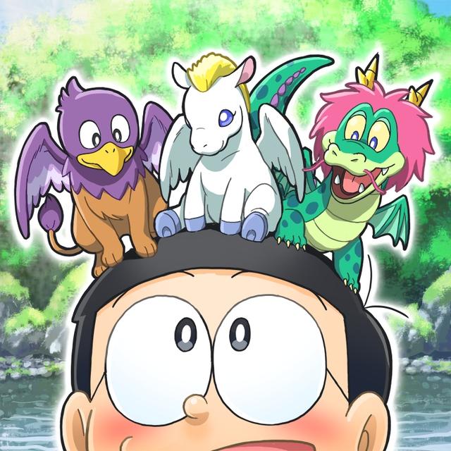 Loạt tranh Doraemon và gia đình Nobi dành cho hội fan mèo máy - Ảnh 6.