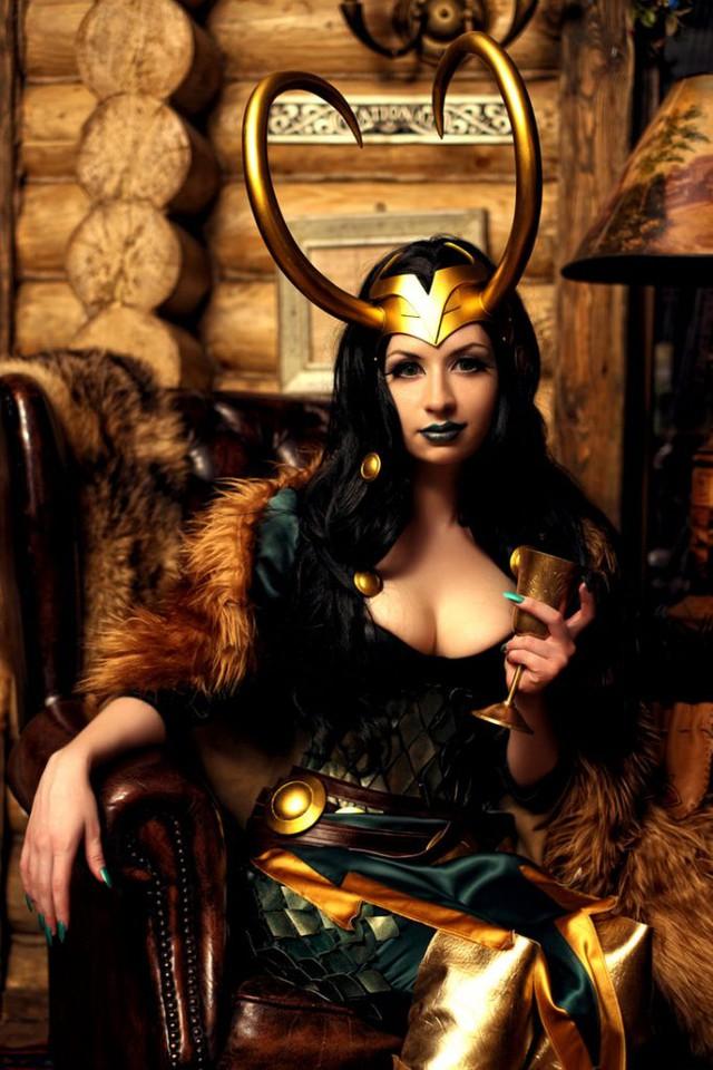Ngắm thần lừa lọc Loki hóa mỹ nhân bốc lửa, 3 vòng đâu ra đấy qua loạt ảnh cosplay gợi cảm - Ảnh 4.
