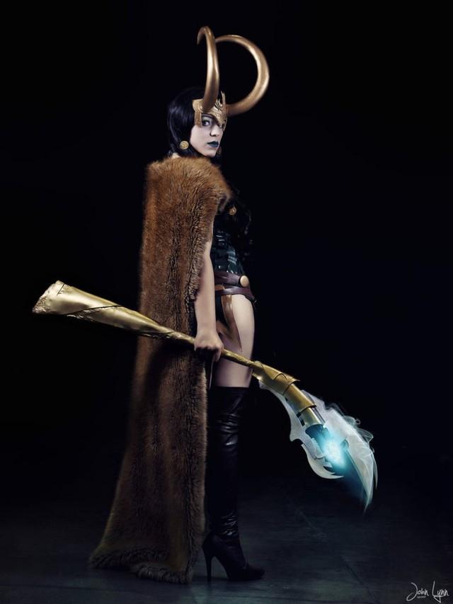 Ngắm thần lừa lọc Loki hóa mỹ nhân bốc lửa, 3 vòng đâu ra đấy qua loạt ảnh cosplay gợi cảm - Ảnh 5.
