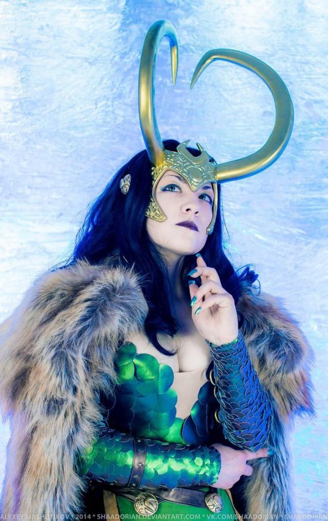 Ngắm thần lừa lọc Loki hóa mỹ nhân bốc lửa, 3 vòng đâu ra đấy qua loạt ảnh cosplay gợi cảm - Ảnh 13.