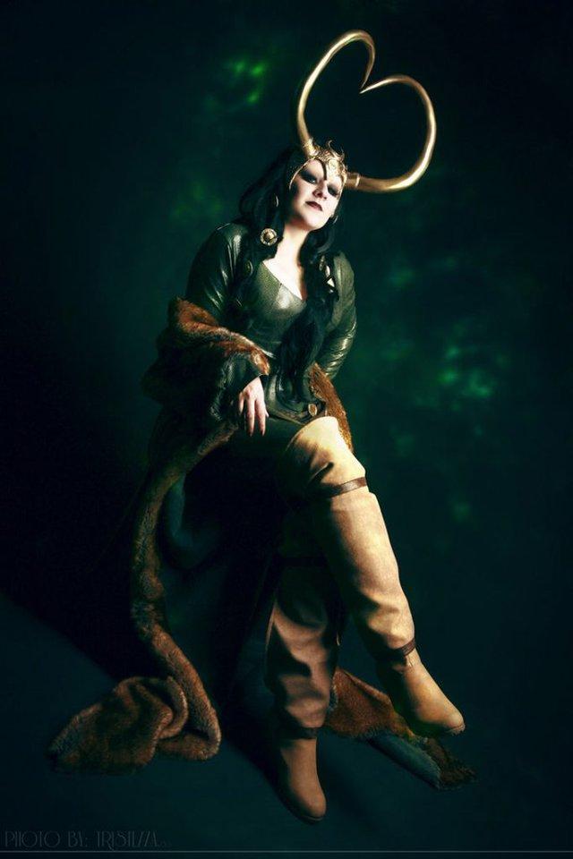 Ngắm thần lừa lọc Loki hóa mỹ nhân bốc lửa, 3 vòng đâu ra đấy qua loạt ảnh cosplay gợi cảm - Ảnh 16.