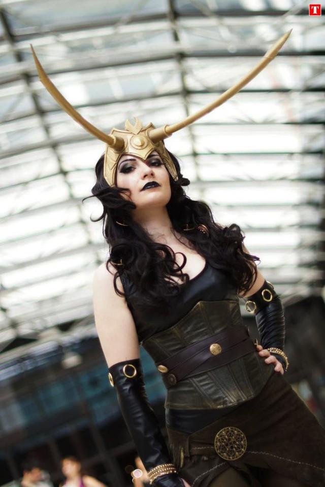 Ngắm thần lừa lọc Loki hóa mỹ nhân bốc lửa, 3 vòng đâu ra đấy qua loạt ảnh cosplay gợi cảm - Ảnh 18.