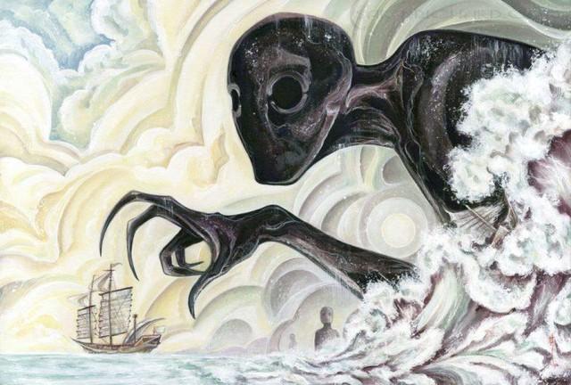 Umibozu: Loài yêu quái linh hồn trong truyền thuyết chuyên tạo nên ác mộng - Ảnh 1.