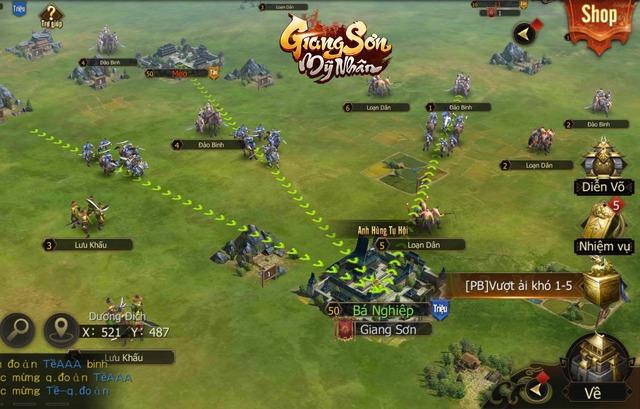 """Giang Sơn Mỹ Nhân: Game chiến thuật SLG """"Full 3D"""" chân thực đến từng… viên gạch sắp ra mắt game thủ Việt trong tháng 6 - Ảnh 3."""