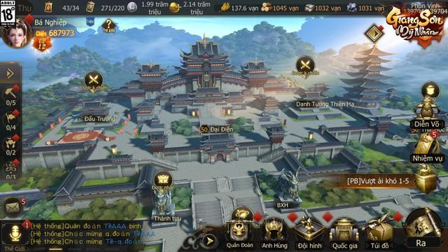 """Giang Sơn Mỹ Nhân: Game chiến thuật SLG """"Full 3D"""" chân thực đến từng… viên gạch sắp ra mắt game thủ Việt trong tháng 6 - Ảnh 5."""