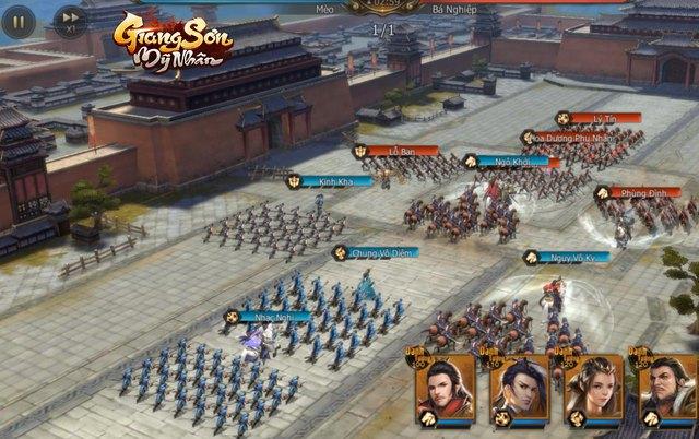 """Giang Sơn Mỹ Nhân: Game chiến thuật SLG """"Full 3D"""" chân thực đến từng… viên gạch sắp ra mắt game thủ Việt trong tháng 6 - Ảnh 6."""
