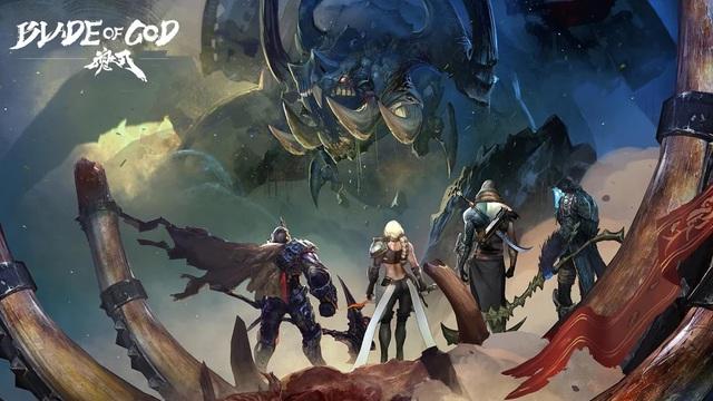 Blade of God, game mobile lấy cảm hứng từ God of War chính thức có bản tiếng Anh, thậm chí có thể tải miễn phí - Ảnh 1.