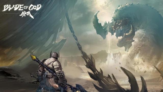 Blade of God, game mobile lấy cảm hứng từ God of War chính thức có bản tiếng Anh, thậm chí có thể tải miễn phí - Ảnh 4.