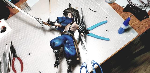 Một game thủ ghét Yasuo tới nỗi làm hẳn tượng đấng đẹp lung linh chỉ để... đập nát cho bõ tức - Ảnh 7.