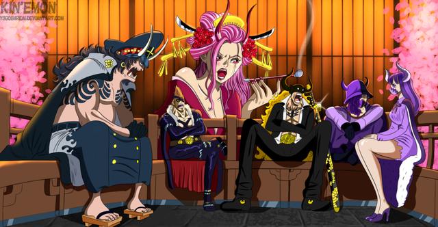 One Piece: Một thành viên trong Tobi Roppo có mối liên hệ mật thiết với đảo Amazon Lily của Boa Hancock? - Ảnh 1.