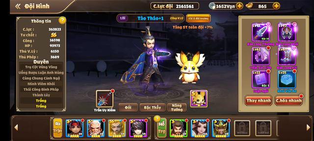 Top 5 vị tướng được yêu thích nhất khi chơi game Tam Quốc, Lữ Bố chỉ xếp hạng 2 - Ảnh 3.