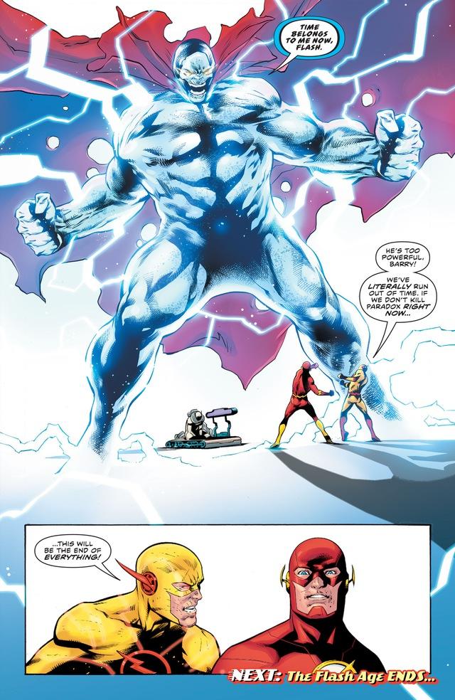 Tin buồn: Flash sẽ bị Reverse-Flash chiếm cơ thể và nhốt trong Speed Force - Ảnh 2.