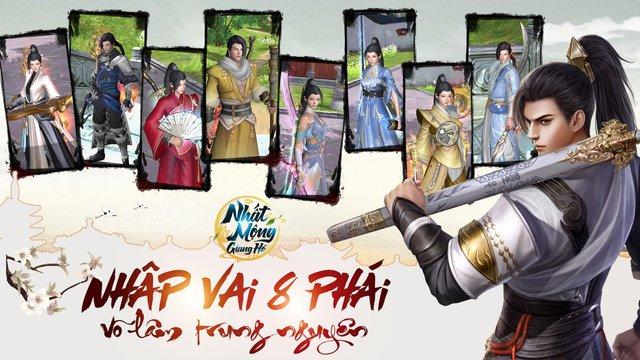 Nhất Mộng Giang Hồ - Game kiếm hiệp nhất phẩm, tái hiện võ học Kim Dung chuẩn bị ra mắt - Ảnh 1.