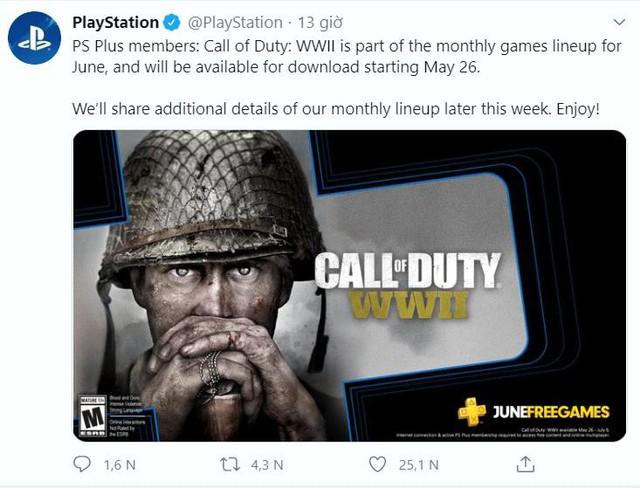 Sony chơi lớn, tặng miễn phí bom tấn Call of Duty WWII cho game thủ PS4 - Ảnh 2.