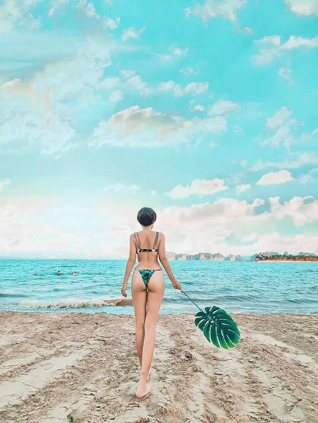 Hè đã nóng thì chớ, admin Cửu Kiếm còn tung bộ ảnh bikini bỏng cả mắt người nhìn, vòng mông lên tới... 1m - Ảnh 15.