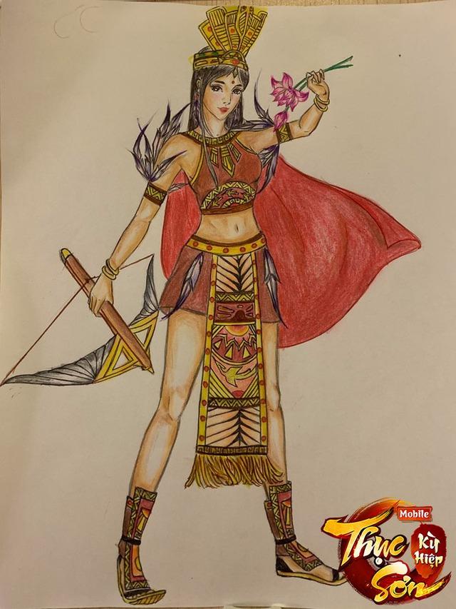 Không phải bikini hay áo váy lòe loẹt, trang phục truyền thống đậm tính văn hóa lịch sử mới là thứ game thủ Việt muốn đưa vào game nhất - Ảnh 12.