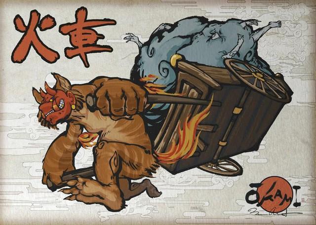 Kasha: Loài yêu quái chuyên đánh cướp thi hài những kẻ 'nặng nghiệp' - Ảnh 2.