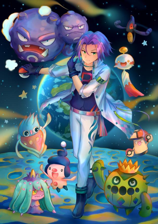 Ngắm trọn loạt tranh vẽ về Team Rocket, những tên tội phạm tội nghiệp trong thế giới Pokemon - Ảnh 5.