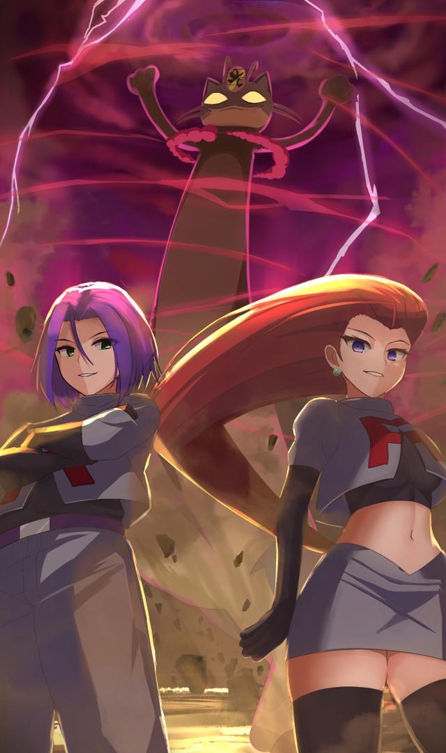 Ngắm trọn loạt tranh vẽ về Team Rocket, những tên tội phạm tội nghiệp trong thế giới Pokemon - Ảnh 7.