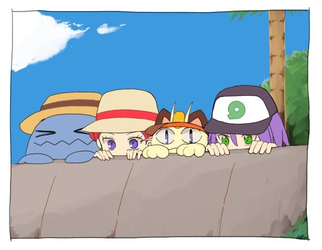 Ngắm trọn loạt tranh vẽ về Team Rocket, những tên tội phạm tội nghiệp trong thế giới Pokemon - Ảnh 9.