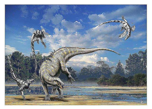 Tìm hiểu về Deinonychus: Loài khủng long sở hữu cú đá chết người - Ảnh 1.