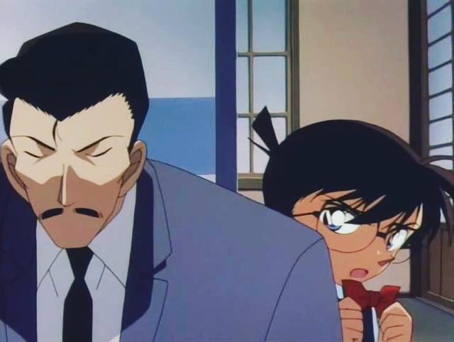 Nhìn lại 4 lần Kogoro Mori dường như đã phát hiện ra thân phận thật của Conan, vì sao thám tử ngủ gật lại im lặng? - Ảnh 1.