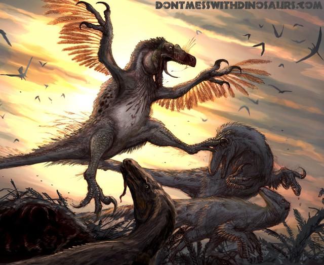 Tìm hiểu về Deinonychus: Loài khủng long sở hữu cú đá chết người - Ảnh 2.