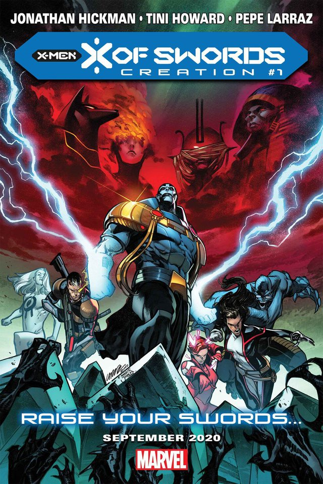 X-MEN: X OF SWORDS: Những thanh kiếm vô địch trong vũ trụ Marvel sẽ trở lại? - Ảnh 3.