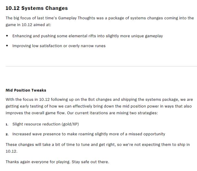 Riot Games hé lộ những chỉnh sửa của bản 10.12 - Hầu hết tướng đường giữa sẽ bị nerf cực nặng - Ảnh 2.