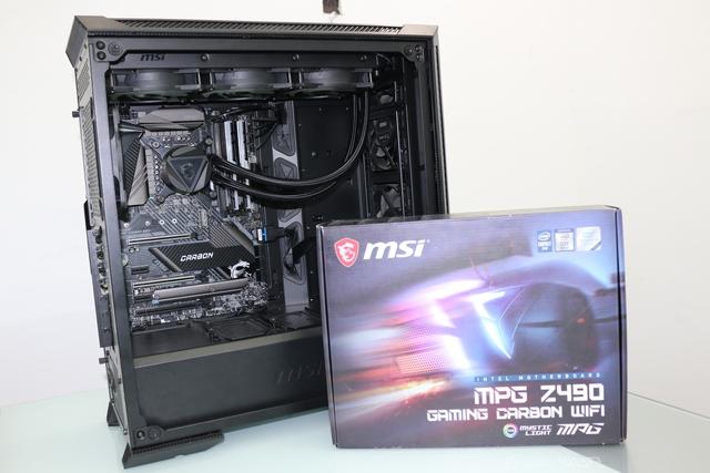 Trên tay MSI MPG Z490 Gaming Carbon WiFi, bo mạch chủ hoàn hảo cho Core i thế hệ 10 - Ảnh 3.