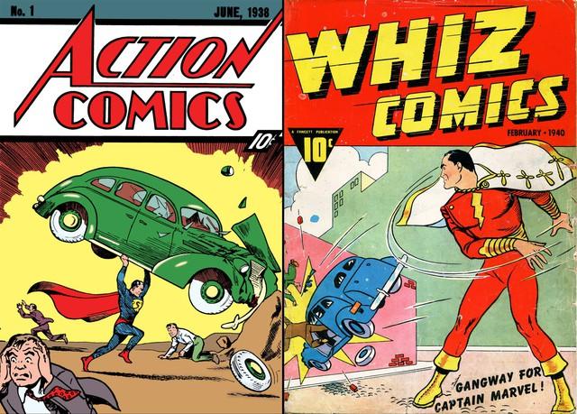 Shazam sẽ trở lại với cái tên Captain Marvel trong thời gian tới - Ảnh 2.