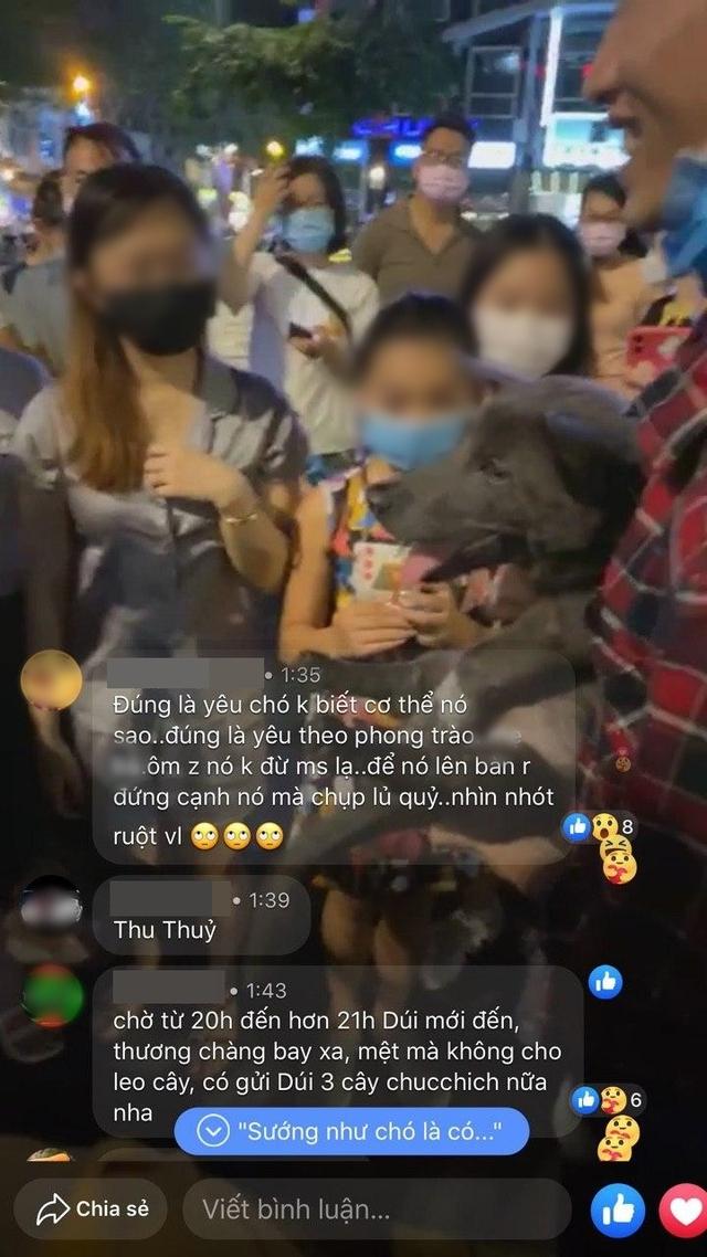 Boss Nguyễn Văn Dúi vào Sài Gòn du lịch, bị fan hâm mộ quây kín phố đi bộ Nguyễn Huệ và lặp lại cùng một hành động khiến dân mạng bức xúc - Ảnh 11.