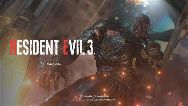 Resident Evil 3 Remake đã có bản Việt Ngữ hoàn chỉnh, game thủ có thể tải và chơi ngay bây giờ - Ảnh 2.