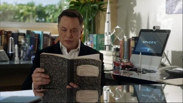 Ngoài đam mê công nghệ, Elon Musk còn là một diễn viên đã từng xuất hiện trong nhiều bom tấn tầm cỡ thế giới - Ảnh 4.