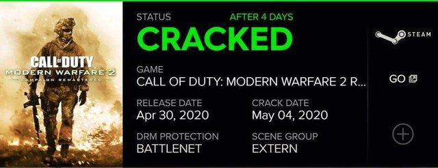 Vừa phát hành 4 ngày trên PC, Modern Warfare 2 Remastered đã bị hạ gục bởi cracker.docx - Ảnh 2.